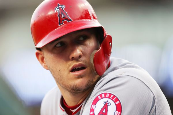 Mike Trout Stats News Pictures Bio Videos Los Angeles