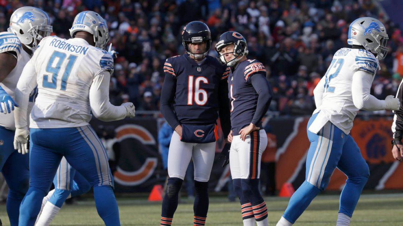 09c0cffd934 Bears' Cody Parkey to get extra practice at Soldier Field after misses