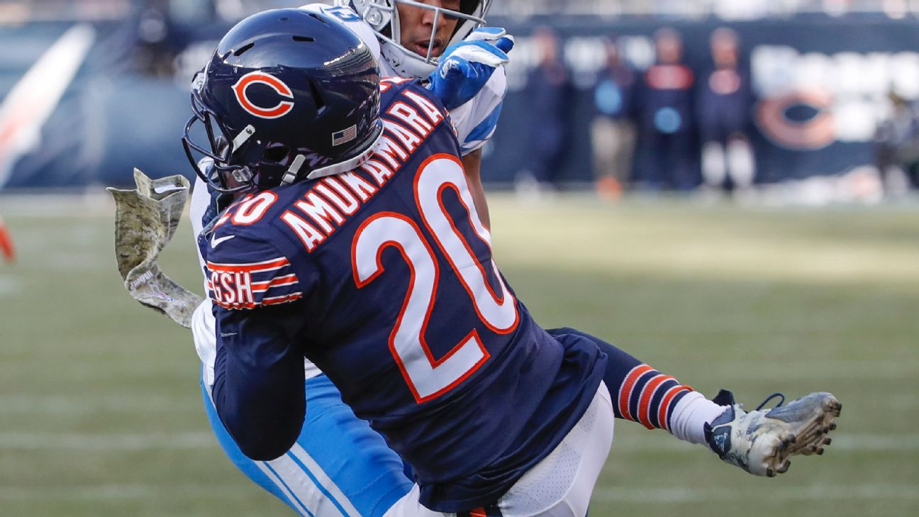 Bears CB Prince Amukamara again has name misspelled on jersey ... 4cb02ad53
