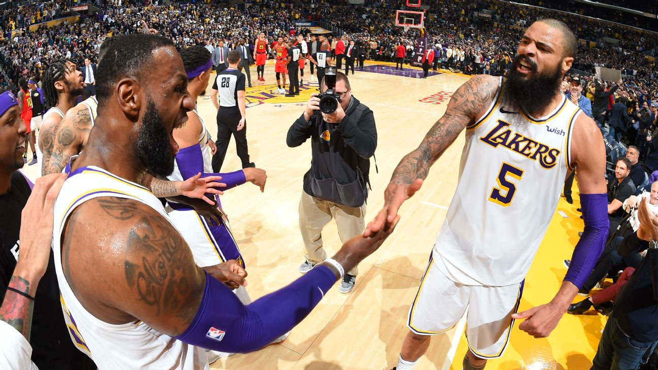 Tyson Chandler's choice of Lakers over Warriors has already paid ...