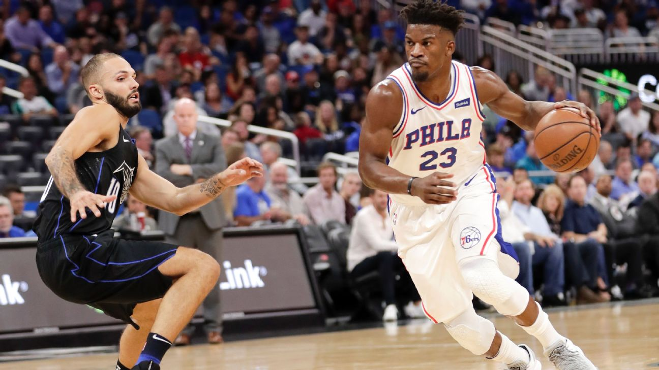Jimmy Butler scores 14 in debut as Sixers let late lead slip away ... be41c3464