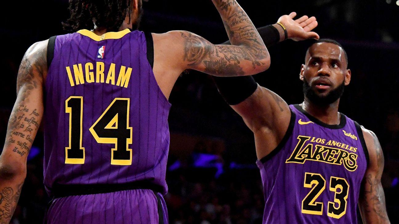 LeBron passes Wilt as the Lakers crush Blazers  6678fa9f7