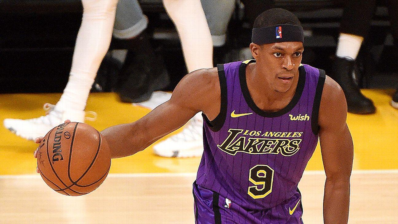 6ab9c24d5a00 Lakers  Rajon Rondo expected to return Thursday vs. Timberwolves ...