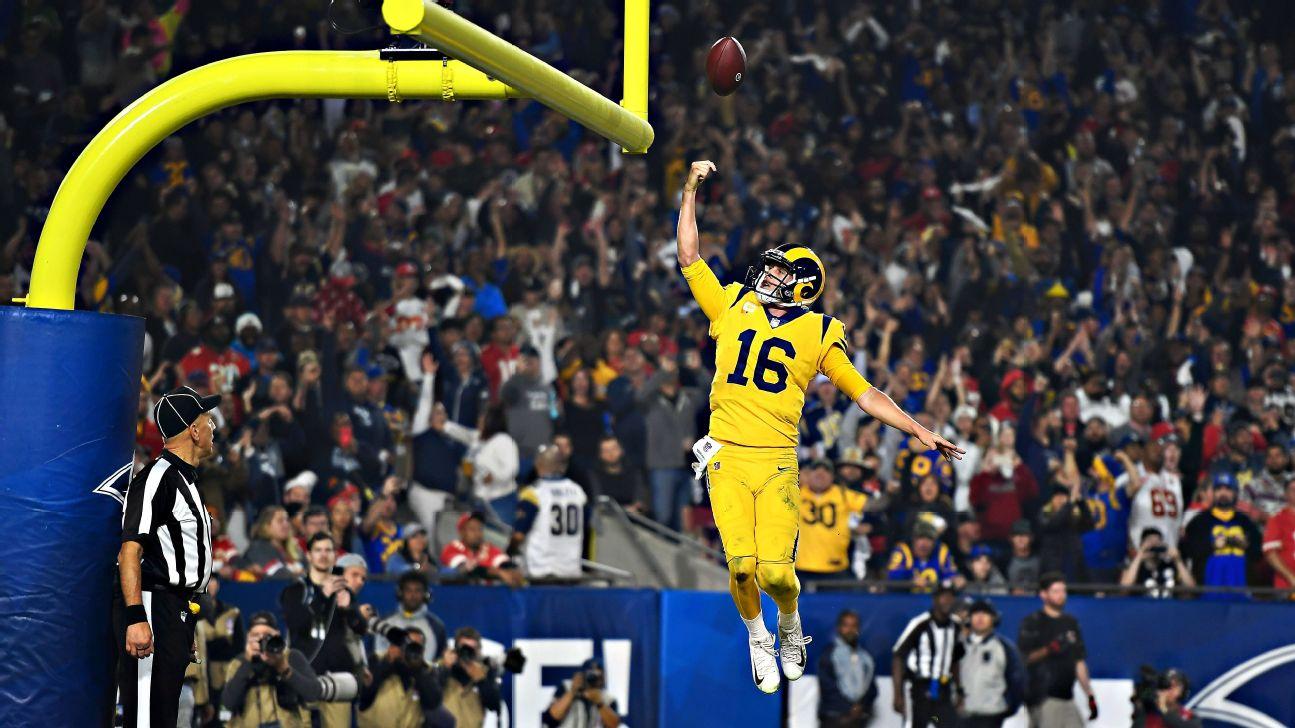 2018 Nfl Kansas City Chiefs Meet Los Angeles Rams Monday