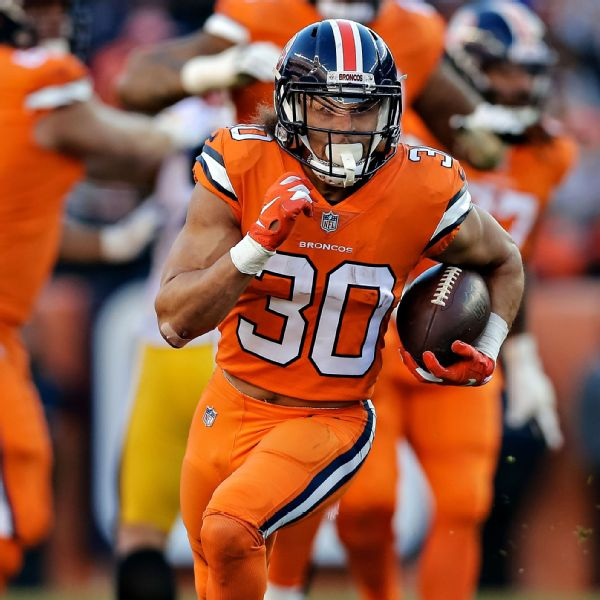 Phillip Lindsay Stats, News, Videos, Highlights, Pictures