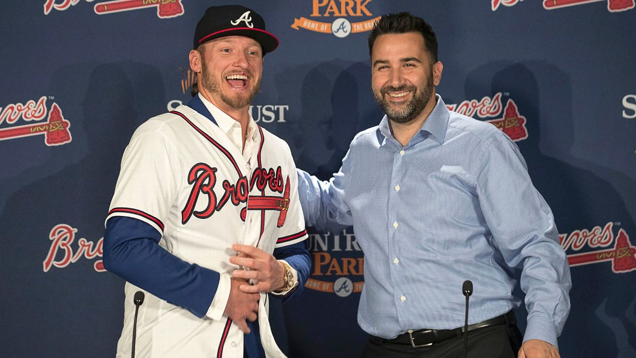 watch 02ff7 7124a Josh Donaldson, Atlanta Braves reach a deal that works well ...