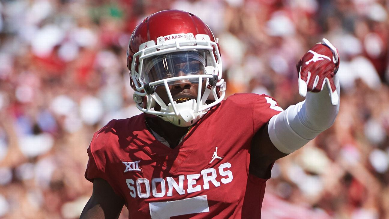 Oklahoma WR Marquise Brown to miss combine 9883efb7b