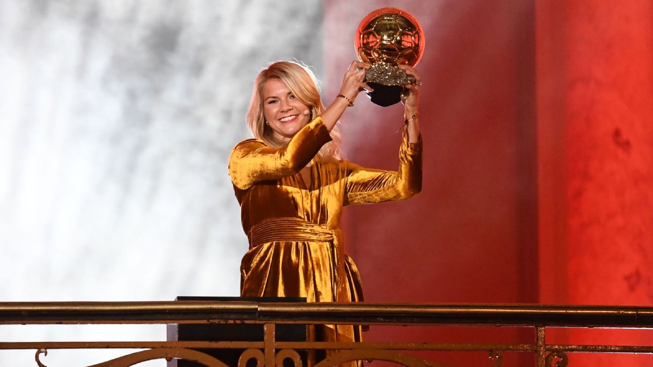 65bba269e5 La primera ganadora del Balón de Oro