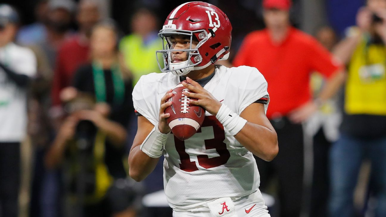 Tua Tagovailoa, Kyler Murray, Dwayne Haskins are finalists