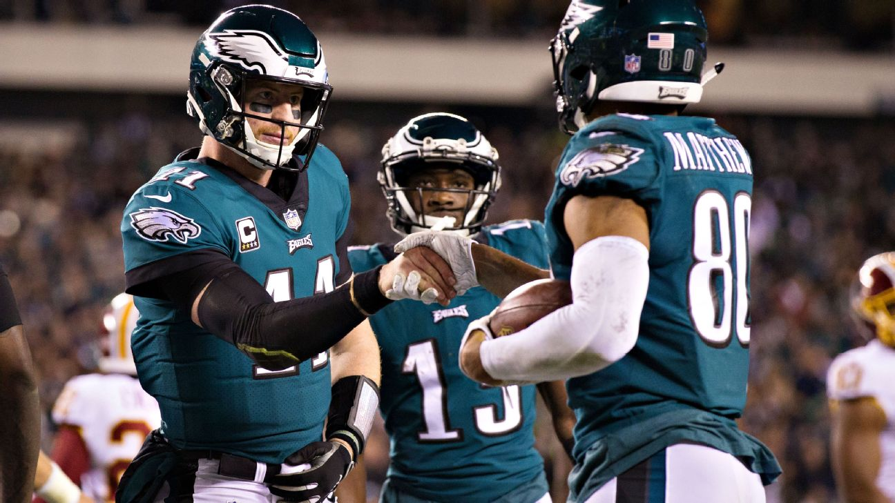 Don T Tell Carson Wentz The Eagles Are A Playoff Long Shot 6abc