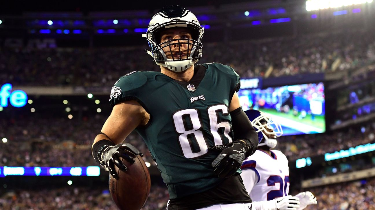 size 40 474a1 d8fa4 As Zach Ertz chases Jason Witten's record, respect comes ...