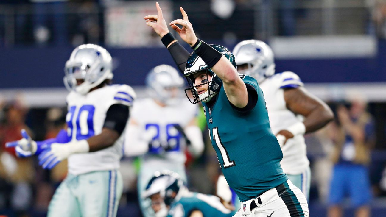 Eagles Carson Wentz Ruled Out Against Rams With Back Injury 6abc Philadelphia