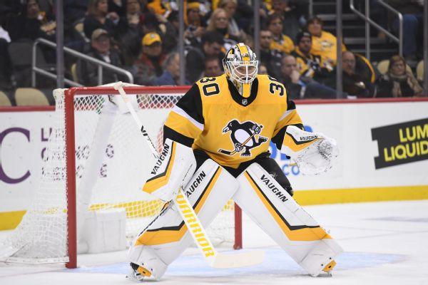 Penguins goalie Murray returns to practice 2392a350e