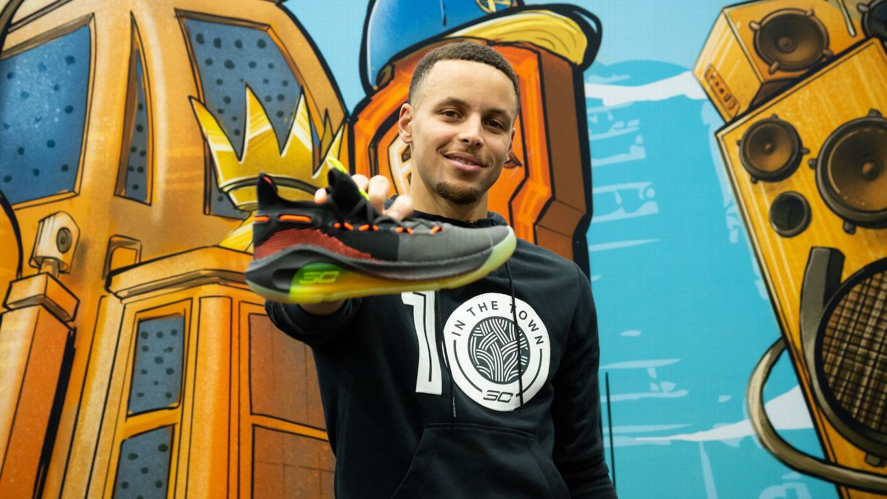 1dd1d22e35b3 Stephen Curry s new signature sneaker is more connected with Oaklan ...