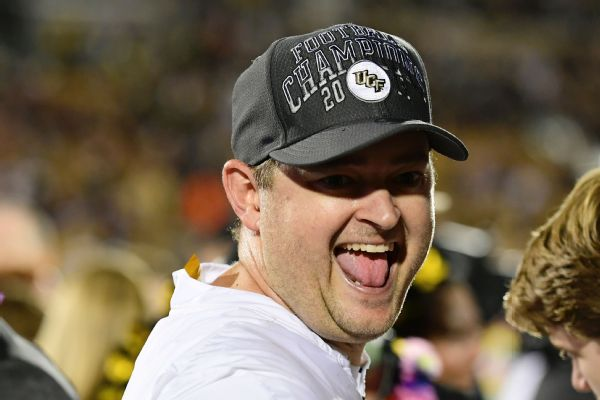 Sources: UCF's Heupel to be Tennessee coach