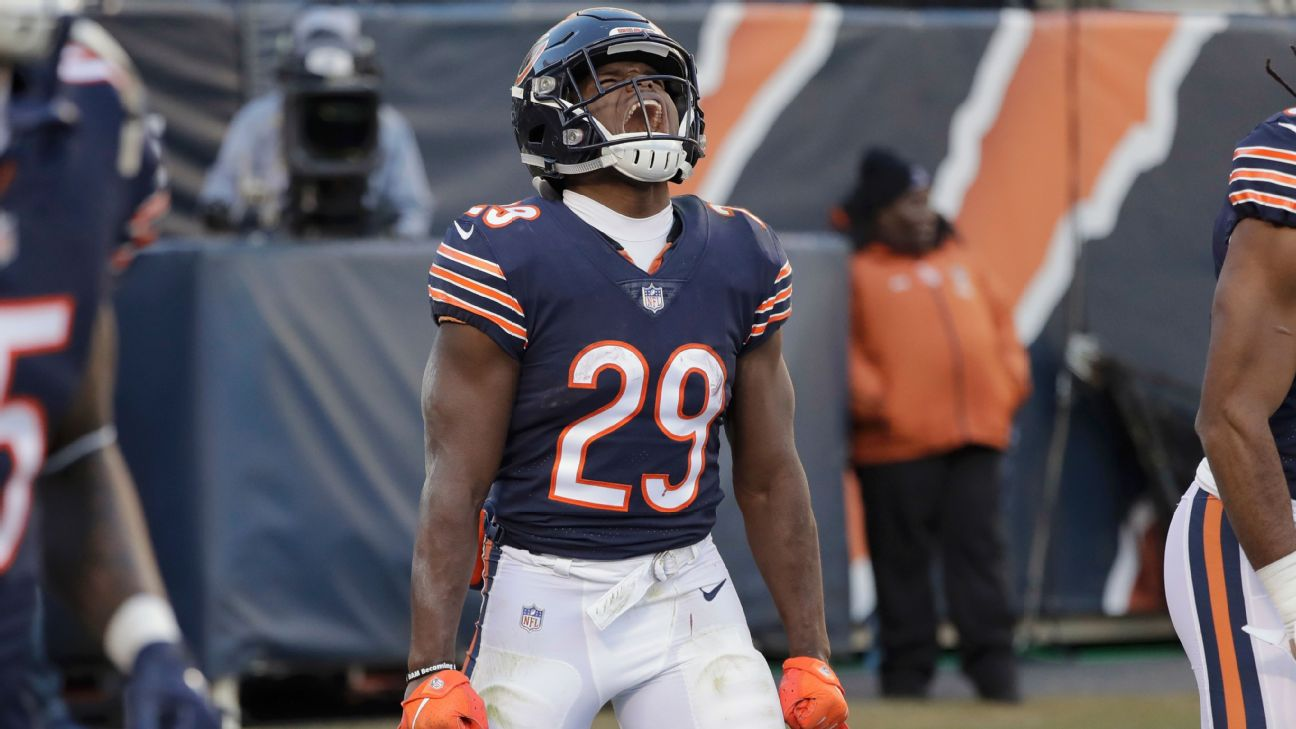 786a2473e Bears stop Packers to clinch first NFC North crown since 2010 ...