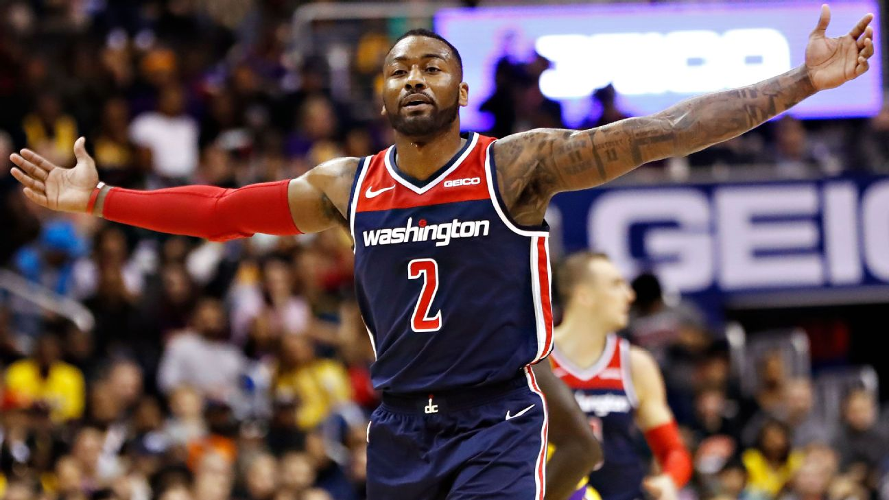 a13c6aee9afc John Wall dominates Lakers while Wizards await Trevor Ariza s arrival.  Wall s 40