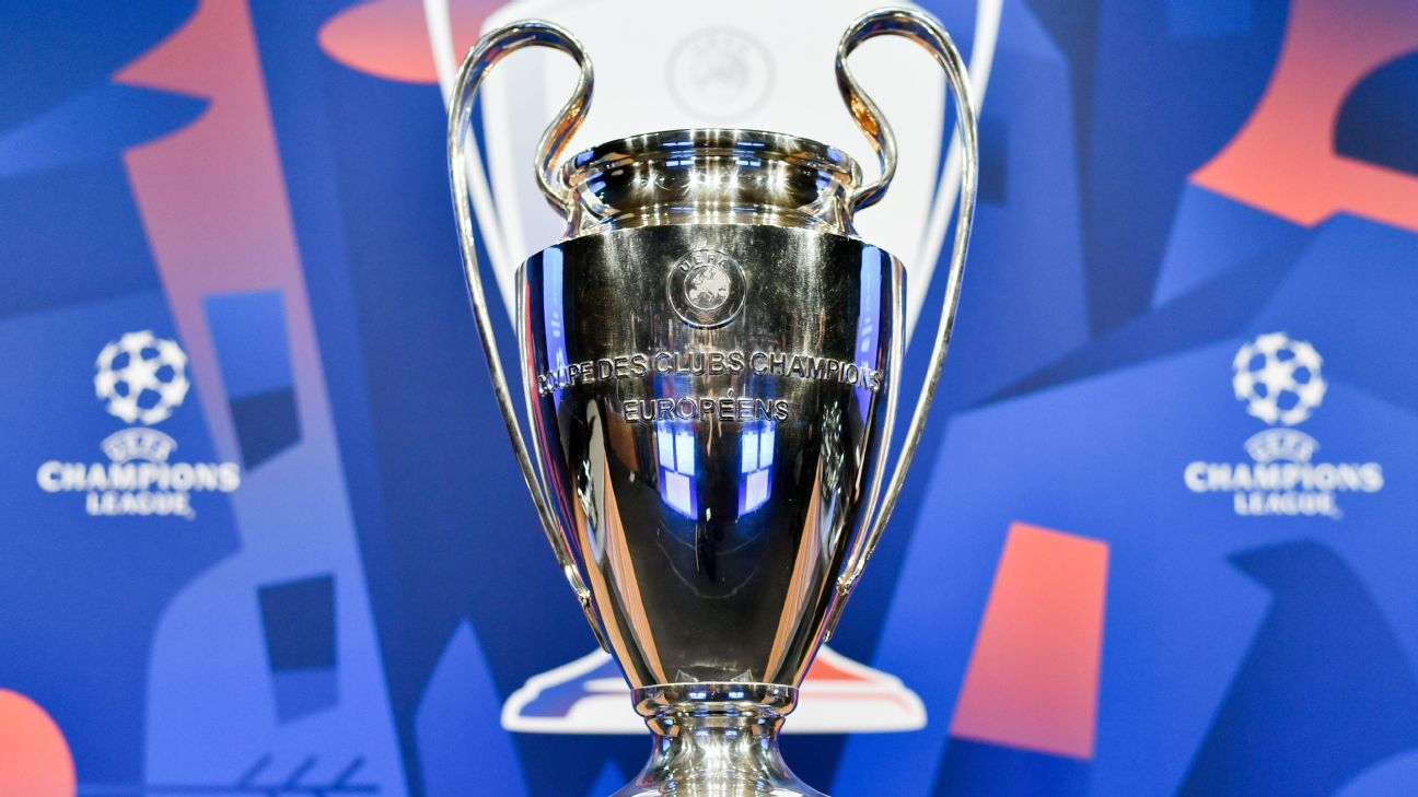 Champions League Group Stage Draw Pots Finalised
