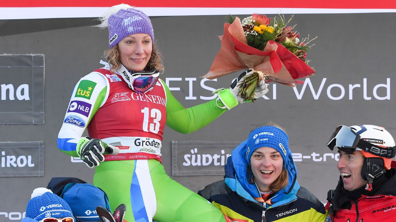 Ilka Stuhec Wins Downhill For First Victory Since Injury