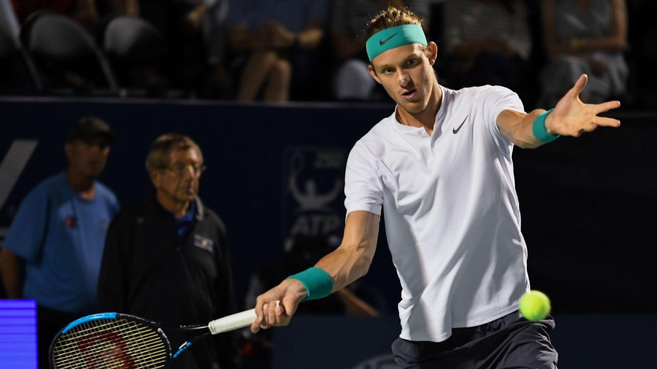 Nicolás Jarry no pudo más en Indian Wells