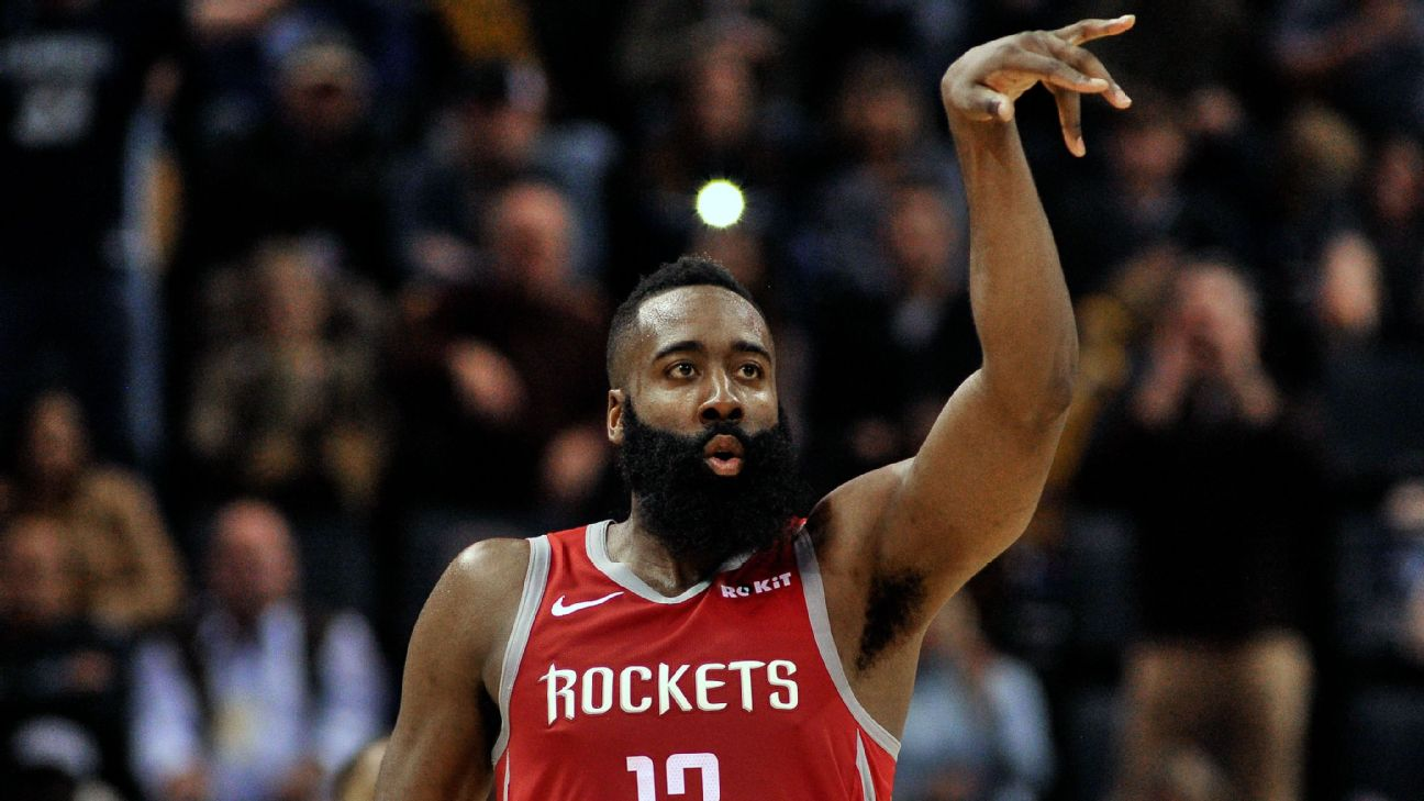 15b141bfda2b James Harden sets Rockets record with 36 first-half points