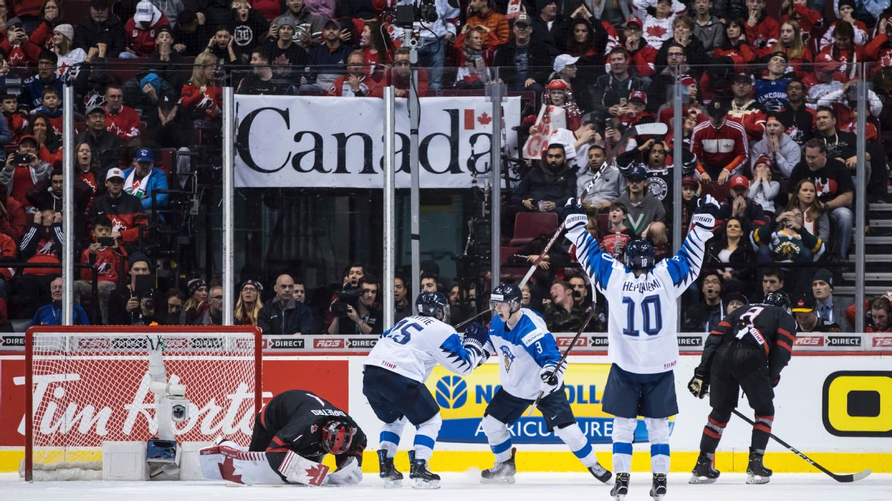 Canada Sweden Eliminated In World Junior Championship Quarterfinals