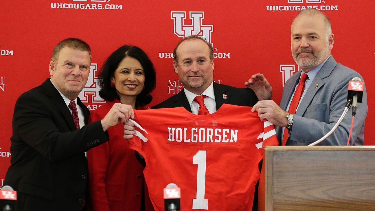 f6b2dc36 The billionaire and the bold move behind Houston's Dana Holgorsen hire