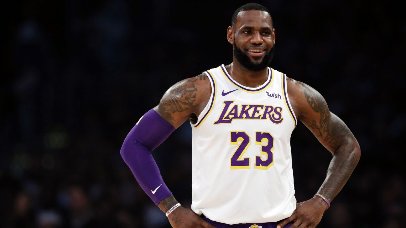 9469019001fd Lakers optimistic as LeBron James to have injury re-evaluated