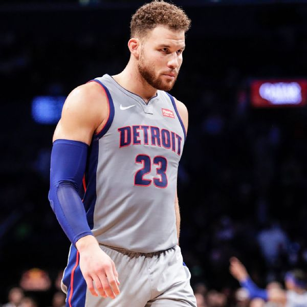 Griffin to sit as Pistons mull trade, buyout options