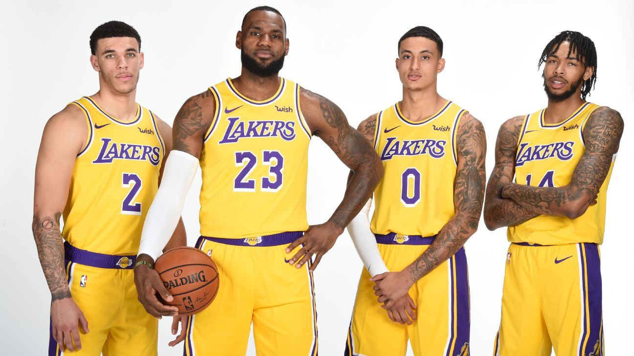 ff33f4d3f8c Kyle Kuzma eager to see Lakers roll out  death lineup