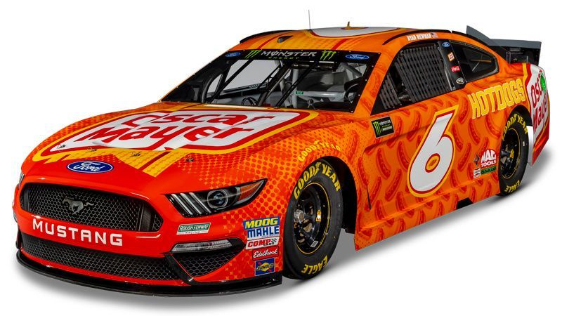 Image result for roush fenway racing oscar meyer paint scheme for 2019