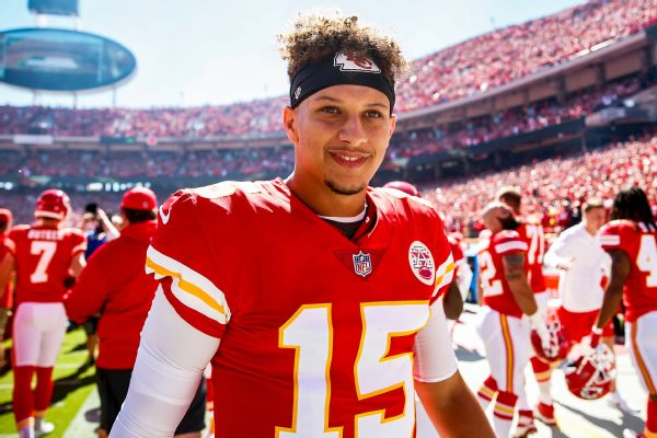 Chiefs: Mahomes' extension may be year away