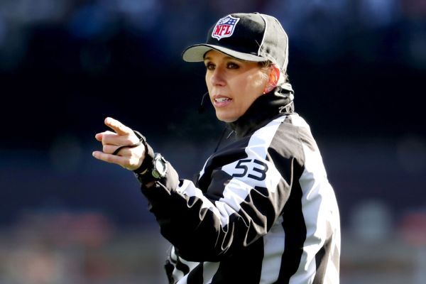 Sarah Thomas to be 1st woman to officiate at SB