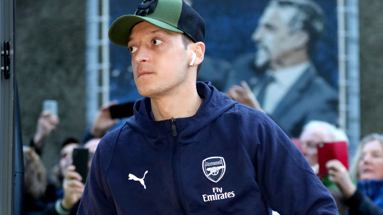 LIVE Transfer Talk: Arsenal willing to pay Mesut Ozil to leave the club