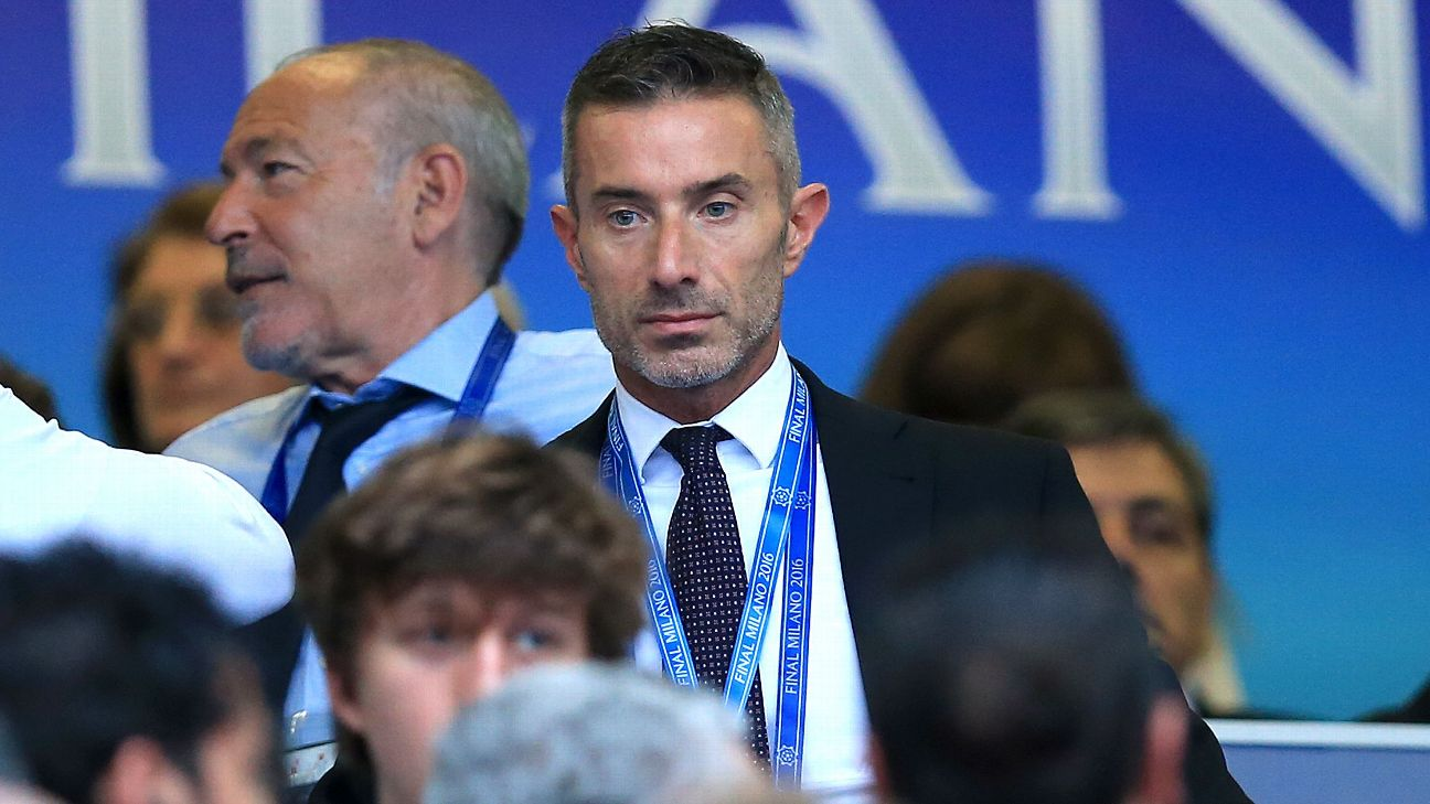 Atletico Madrid director Andrea Berta