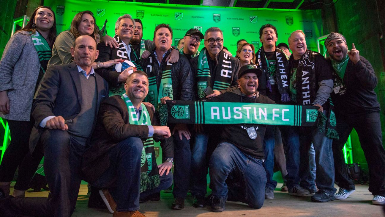 Austin FC has a long way to go -- over two years -- until its first game but Tuesday's announcement is the latest step on a positive path for the under-fire franchise.