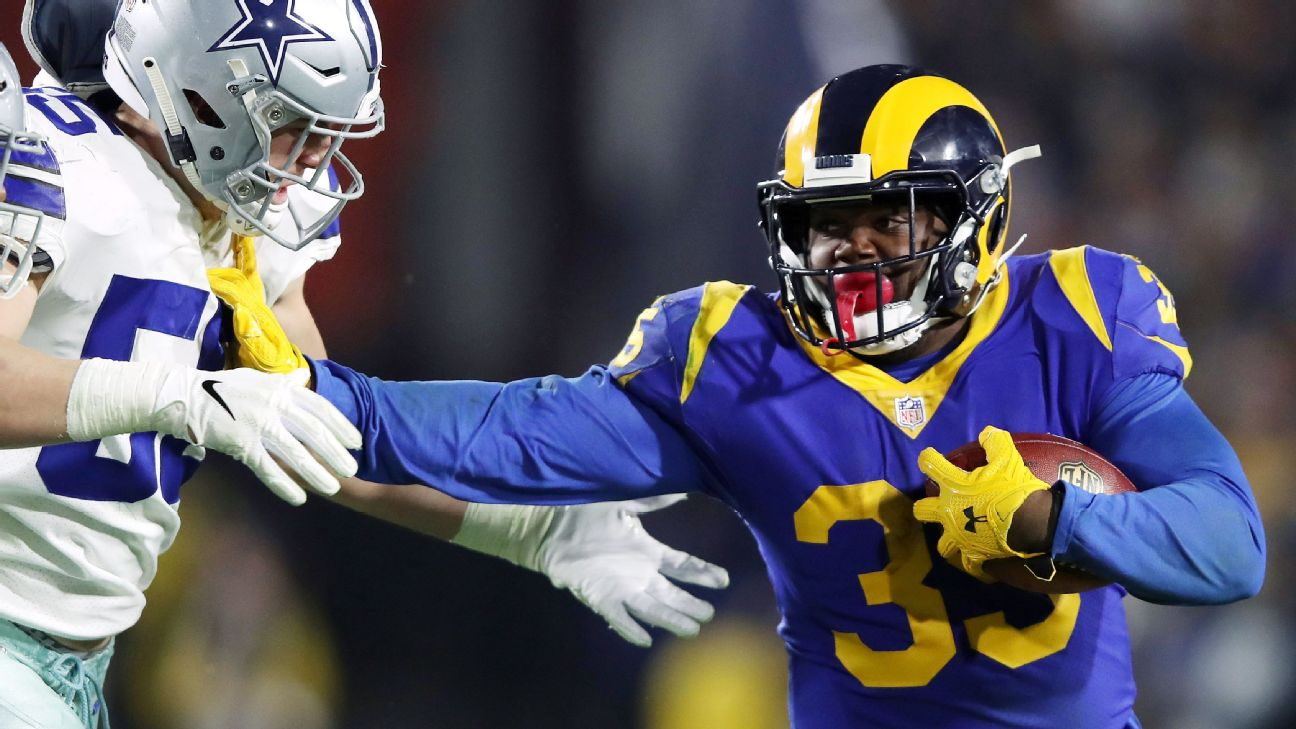 Los Angeles Rams back CJ Anderson is enjoying unexpected
