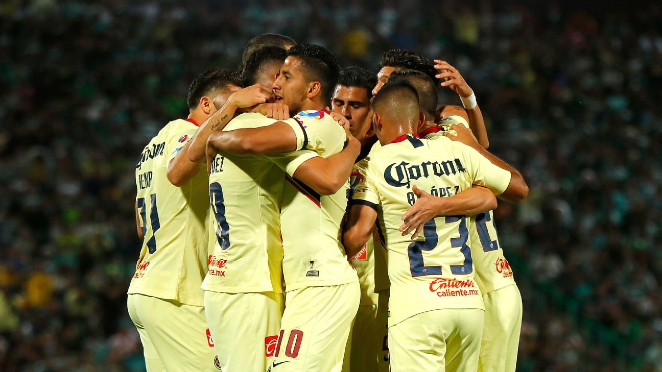 After winning the title on home soil in November, Club America return to the Azteca on Saturday to play Pachuca.