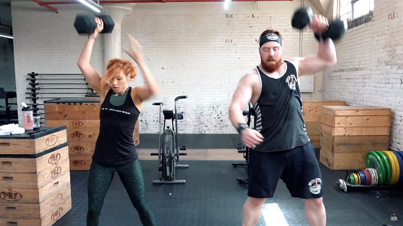 The workouts of WWE superstars