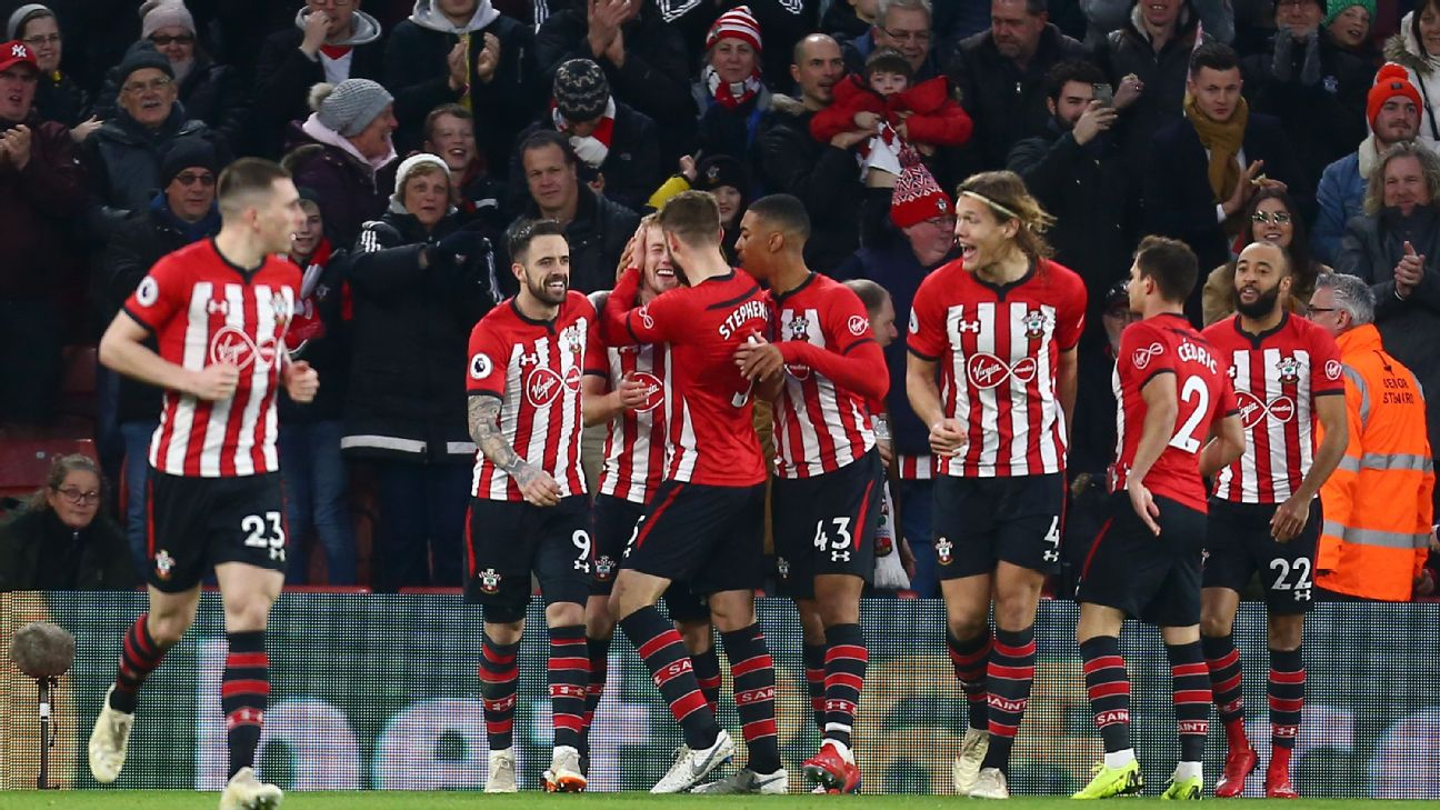 Southampton earn crucial win over Everton in battle against relegation