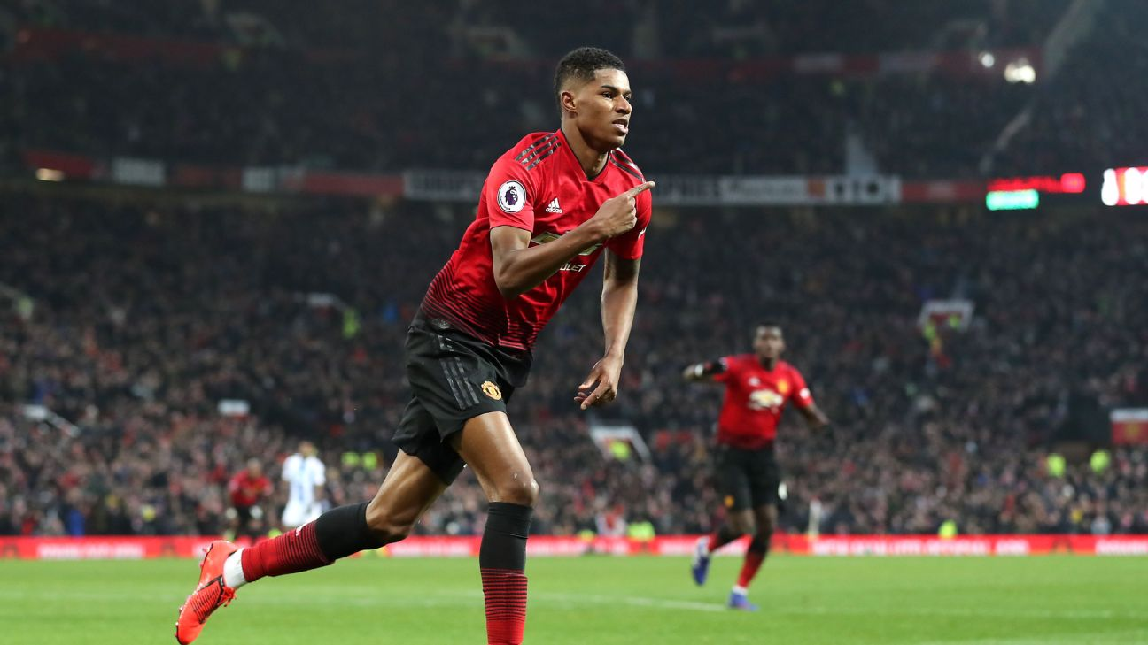 Marcus Rashford continues to flourish under Ole Gunnar Solskjaer, scoring his fifth goal in seven games under the Norwegian.
