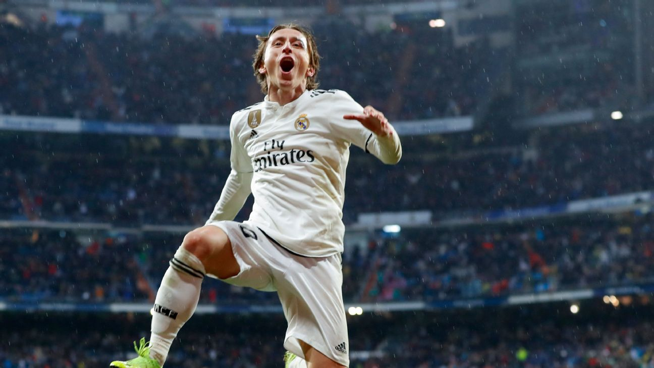 Luka Modric's late goal wrapped up the points for Madrid and capped a strong performance from the Ballon d'Or winner.