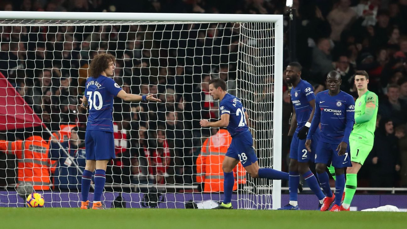 Eden Hazard, N Golo Kante underwhelm as Chelsea well-beaten by rivals Arsenal