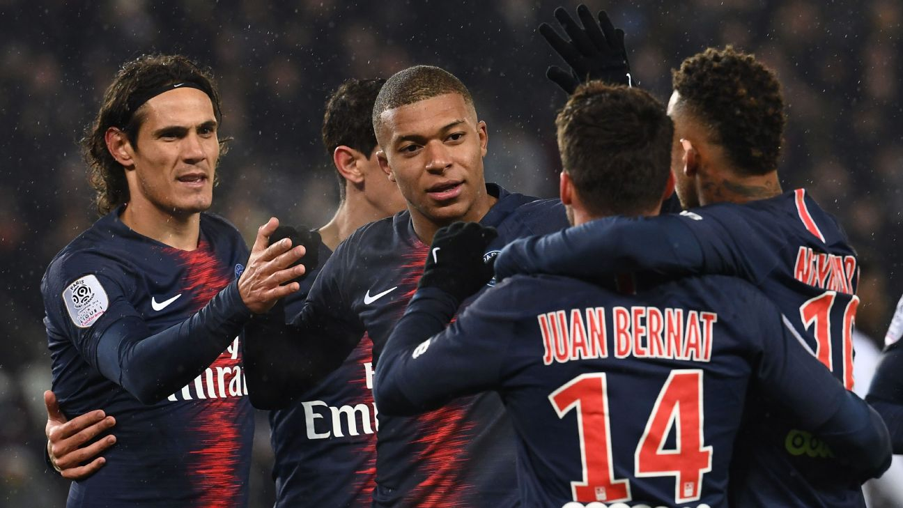 Goals galore as PSG enjoy Guingamp revenge win