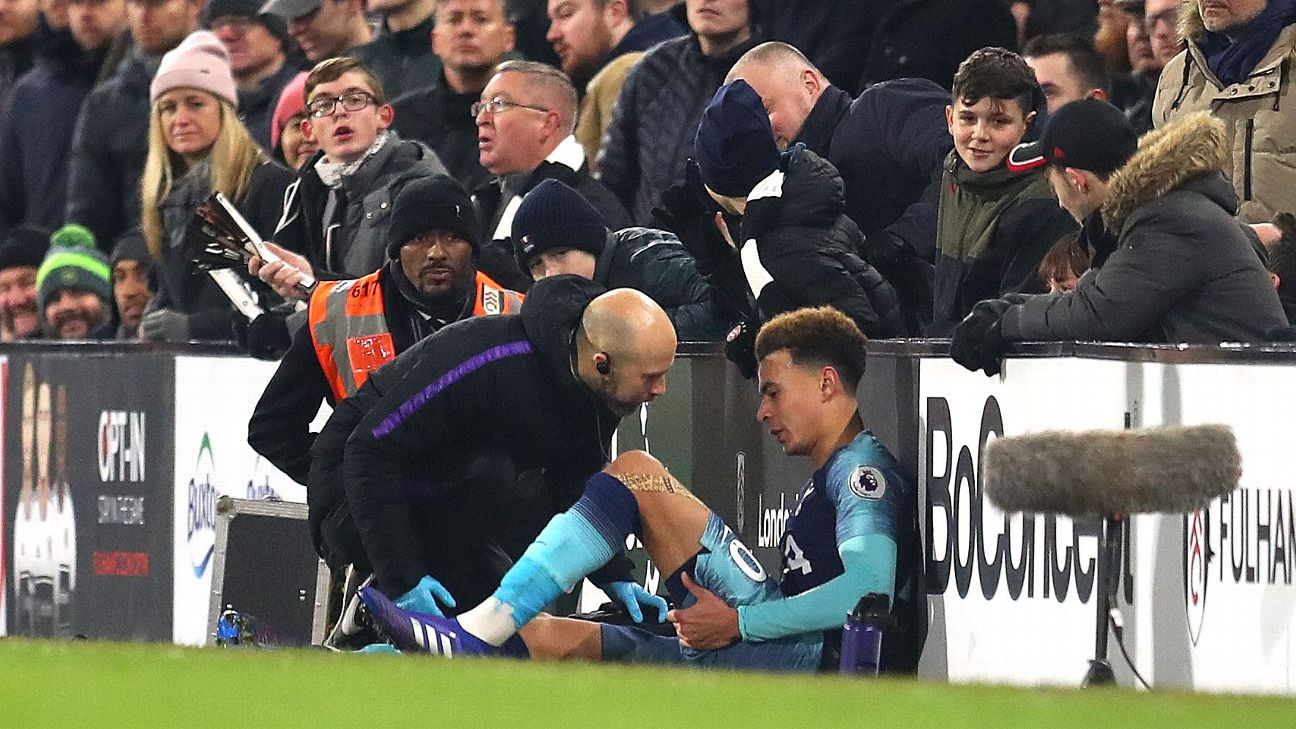 Pochettino: Alli injury blow comes at  worst moment  for Tottenham