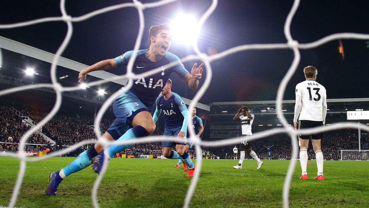 Tottenham need last-minute winner to edge past Fulham