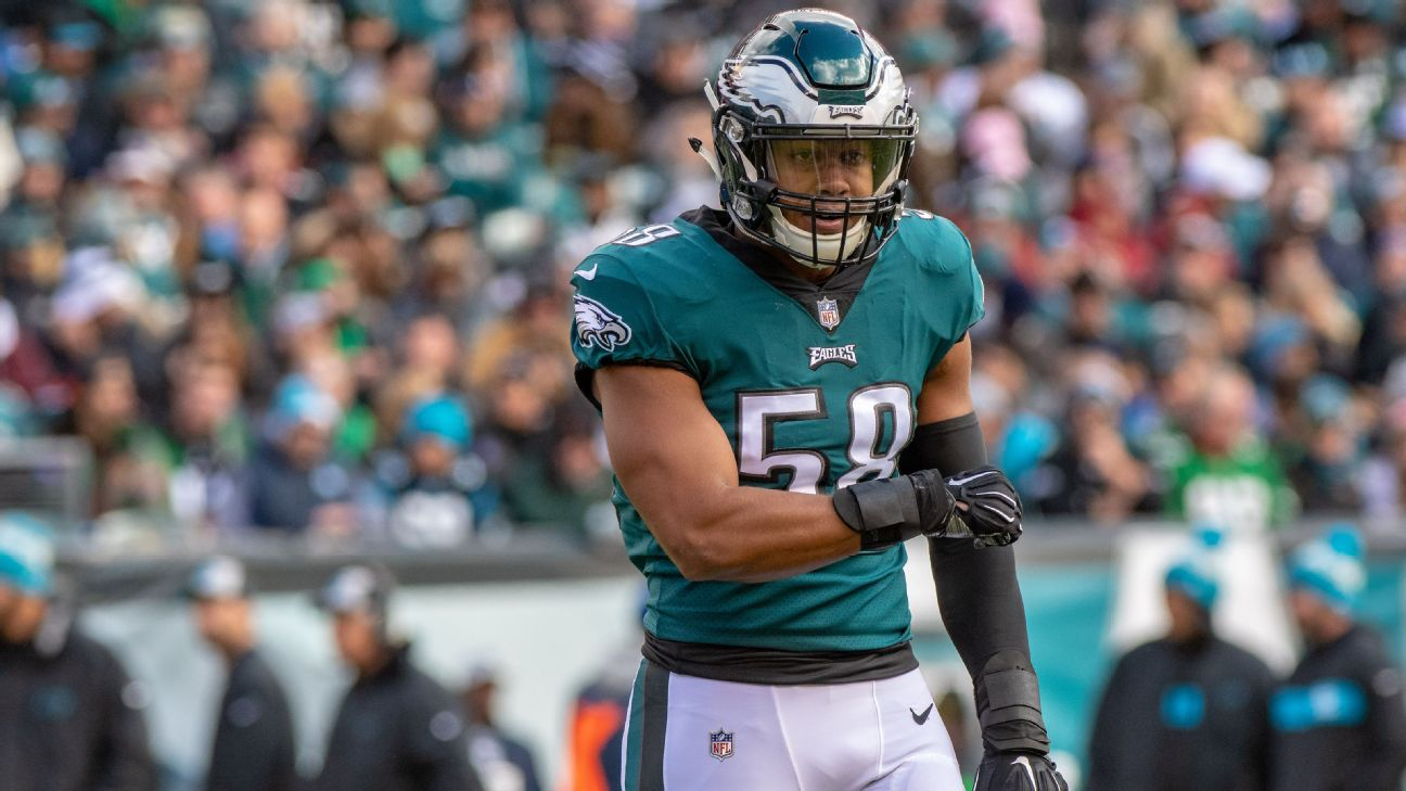 Source: Ex-Eagles LB Hicks plans to join Cards - 6abc Philadelphia
