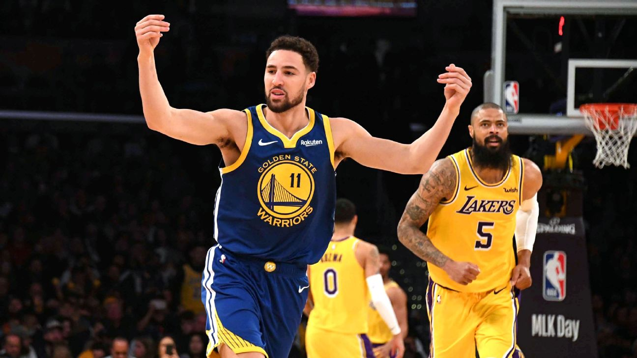 How Klay Thompson Announced He Was Returning To The ... |Klay Thompson