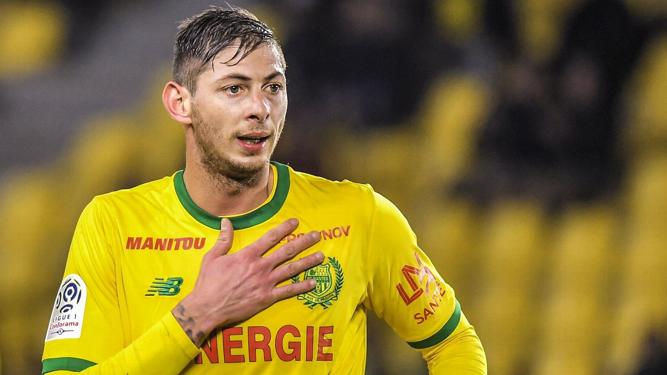 Cardiff City s Emiliano Sala onboard missing plane