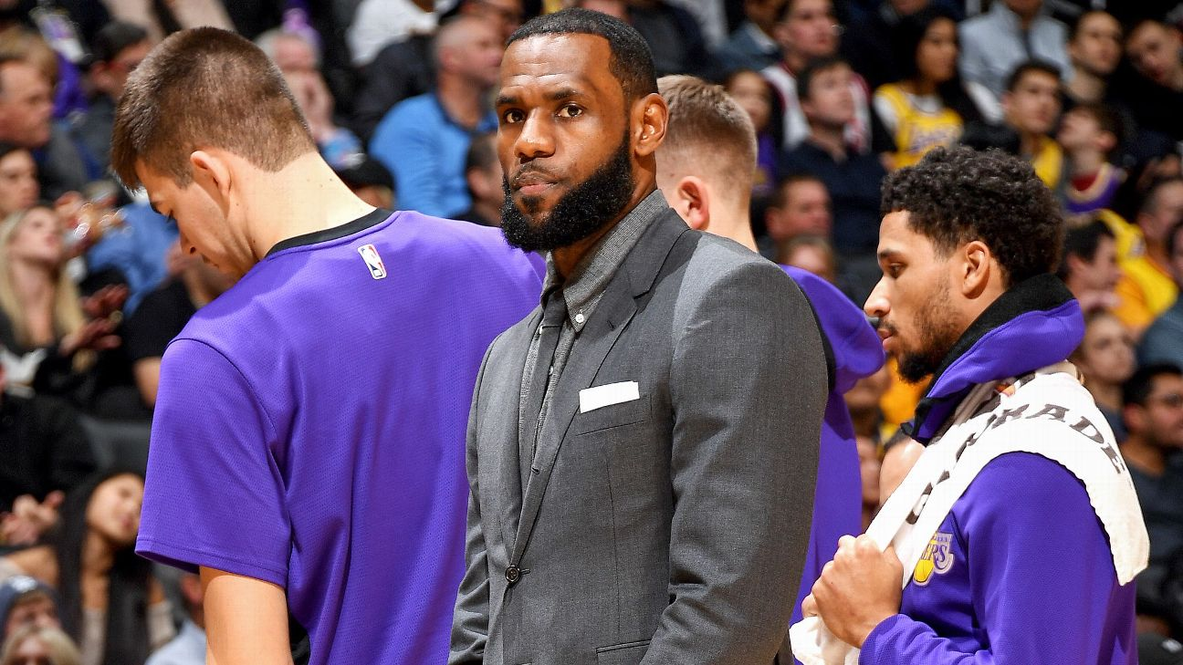 45d0a200f925 Day-to-day  LeBron and the challenges of disclosing NBA injuries ...